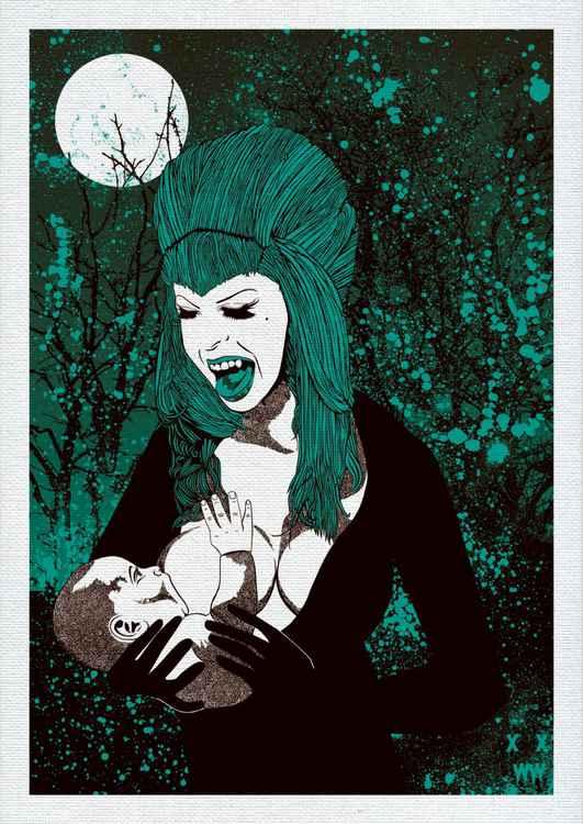 "XWWX - The Moon of Mothir Mélange ""Sanguine Turquoise"" -"