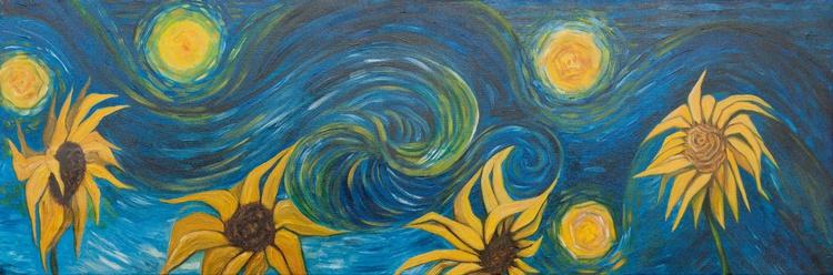 Suns and sunflowers - Soli e girasoli - Homage to Van Gogh - Image 0