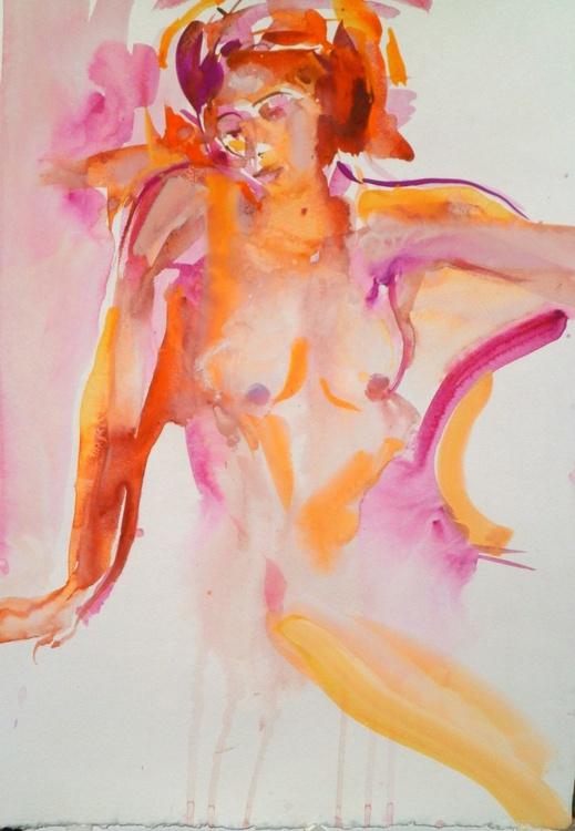 Nude in goldenlight.( Byzantian) - Image 0