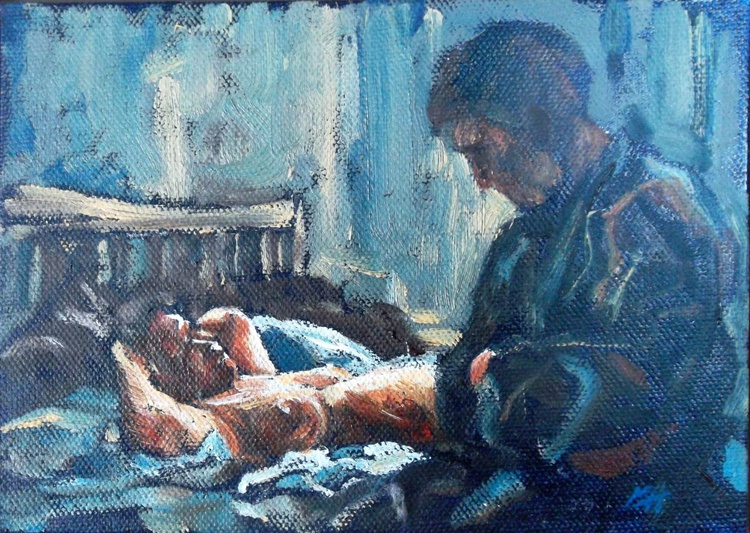 Study for Sunday Morning, Crouch Hill - Image 0