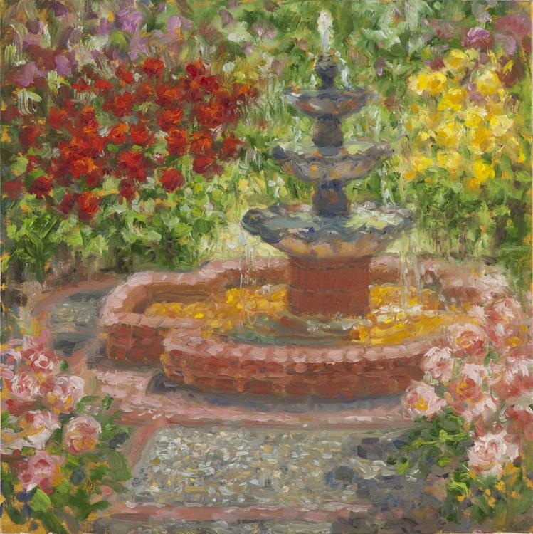 Fountain at Rose Garden - Image 0
