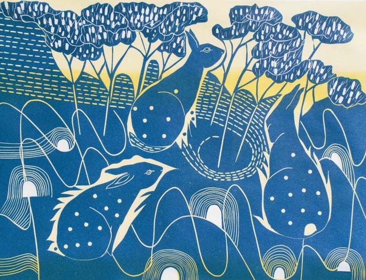 Spiral Midnight Blue - Image 0