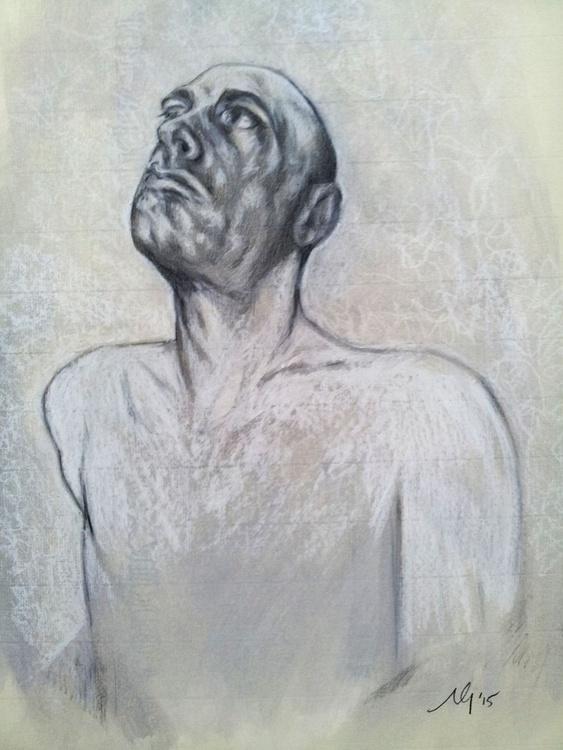 Self Portrait/ Study of a Man - Image 0